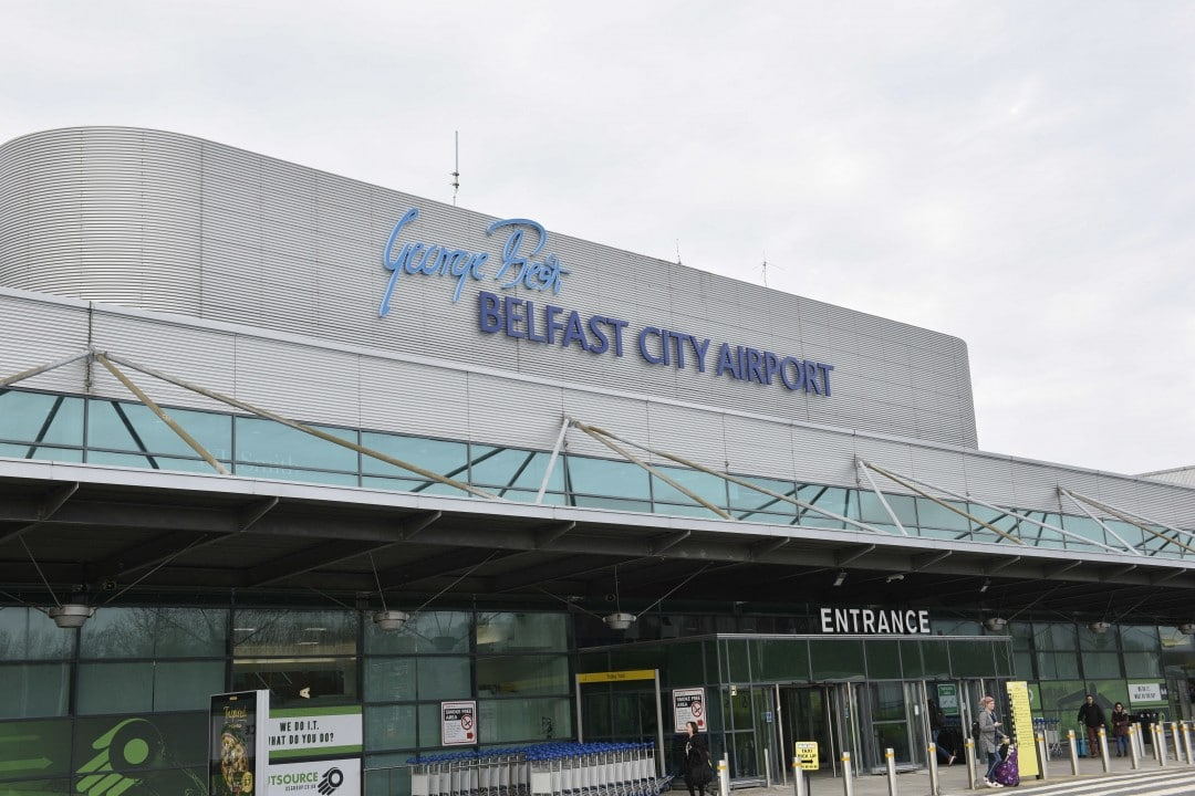 George Best Belfast_City_Airport